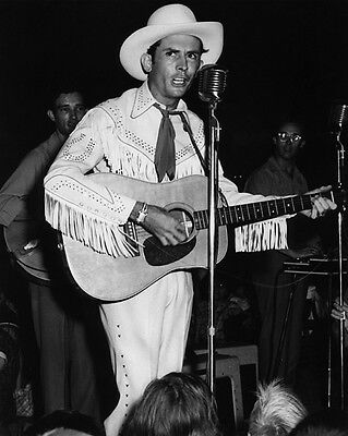 1951 American Country Singer HANK WILLIAMS SR Glossy 8x10 Photo Promotion Print