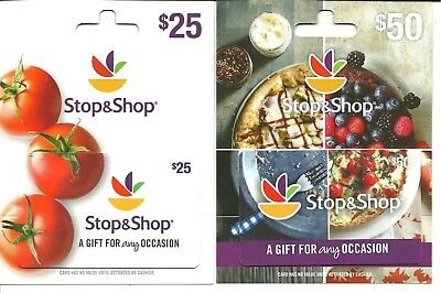 Stop & Shop Gift Card Lot of 2 Different Food Tomato No $ Value Collectible