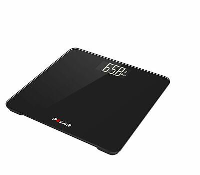 Polar Balance Black Smart Bluetooth BMI Weight Loss  Connected Fitness Scale