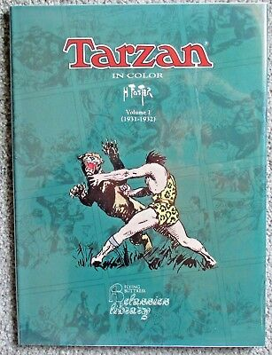 TARZAN IN COLOR Volume 1 (1931-1932) Hal Foster - Flying Buttress HC (1992)