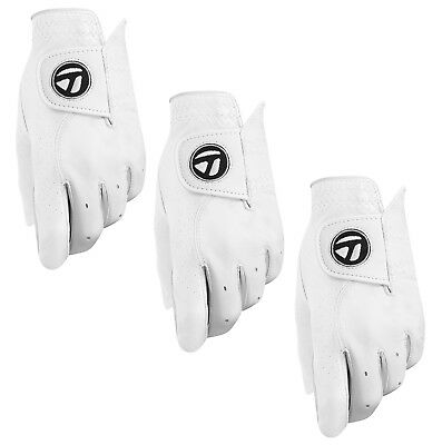 Taylormade Tour Preferred Mens Golf Glove 2018 (3 Pack) - Pick Hand & Size