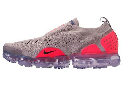 Nike Air Vapormax Moc 2 Flyknit Moon Particle AH7006-201 US 7-13 Solar Red Pink