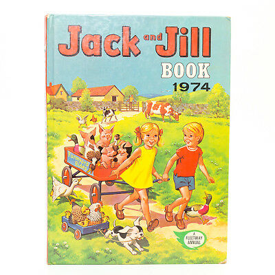 The JACK and JILL Book 1974. Good Condition For Age **Free UK Postage**