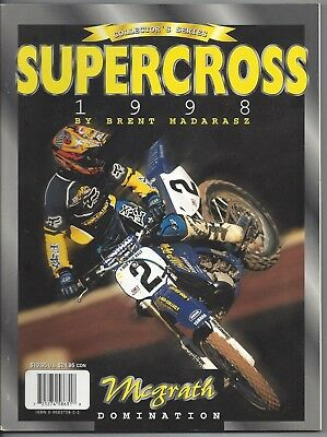 Supercross Book 1998 Jeremy McGrath Domination Brent Madarasz