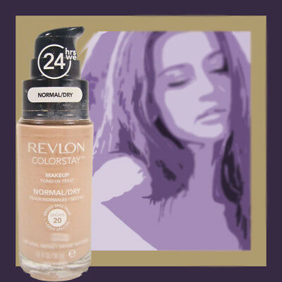 Revlon 24 hrs Colorstay Foundation Makeup *YOU CHOOSE* shade Normal/Dry pump
