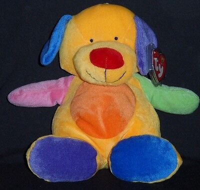 PRETTY PUPPY THE DOG - BABY TY / PLUFFIES - MINT with TAGS - PR PLEASE SEE PHOTO