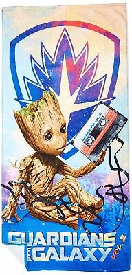 Marvel Guardians of The Galaxy 2 Tangled Groot Cotton Bath Pool Beach Towel