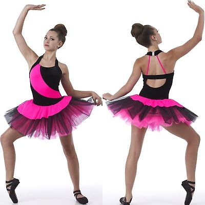 Impulse Dance Costume Ballet Tutu Velvet and Spandex Ruffles New Adult Large