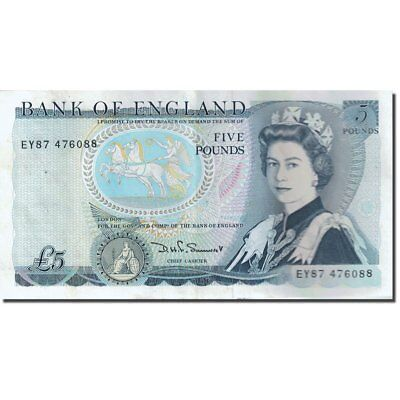 [#271710] Banknote, Great Britain, 5 Pounds, 1971-1982, 1980-1987, KM:378c