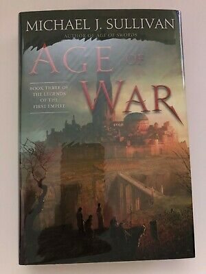 Michael J. Sullvian - Age of War - Signed Dated Limited 1st/1st Hardcover /350
