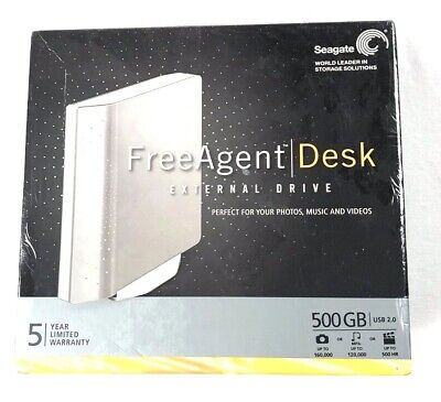 Seagate FreeAgent Desk 500 GB External Hard Drive N59