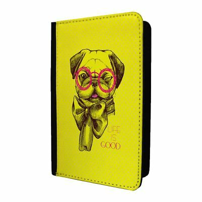 Passport Holder Case Cover Pug Life Is Good - S373