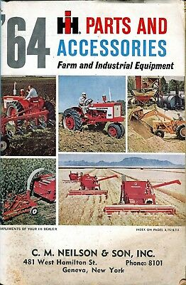 Vintage International Harvester Tractor 1964 Parts & Accessories Catalog
