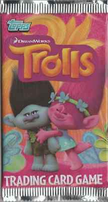 25 cartes différentes (Album Trolls - DreamWorks - Trading cards - TOPPS)