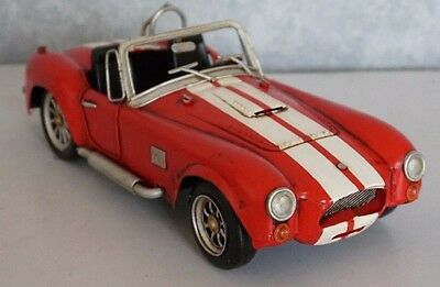 Shelby Cobra tin toy tinplate car blechmodell auto handmade