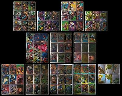 AWESOME Spider-Man Card Collection! 1992, 1994, 1995 Fleer-Ultra - Complete Sets