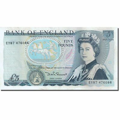 [#271711] Banknote, Great Britain, 5 Pounds, 1971-1982, 1980-1987, KM:378c