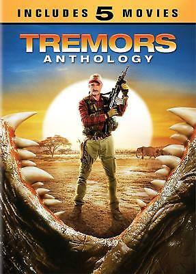 Tremors Anthology 1, 2, 3, 4 & 5 DVD 5 Movies collection New & Sealed R1