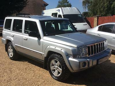 Jeep Commander 3.0CRD V6 auto Limited - £3995 Px welcome