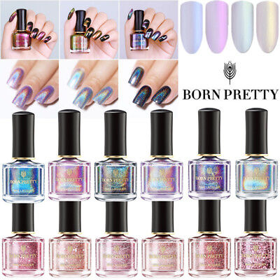 BORN PRETTY 6ML Nail Polish Glitter Magnetic Glimmer Rose Gold  Varnish