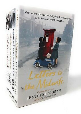 Jennifer Worth 4 Books Set Collection Call The Midwife Series ..