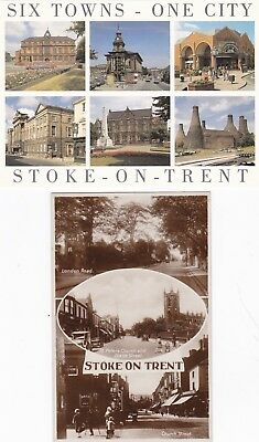 England,Stoke-on-Trent,Staffordshire Mill/Houseboat,Parks,Streets-Vint,Six Towns