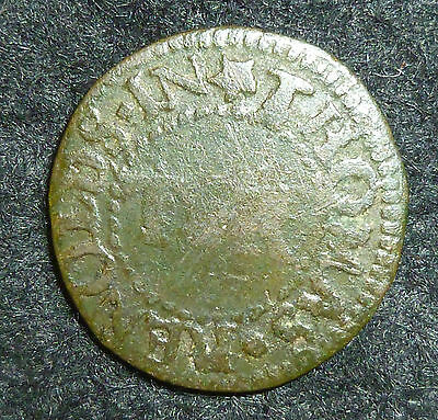 Essex Colchester 17th Century Farthing Token W143 1/4d Thomas Renolds