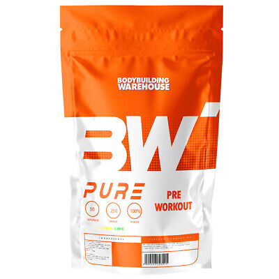 Pure Pre Workout Powder 50 Supercharged Servings Strong Muscle Pump Energy Drink