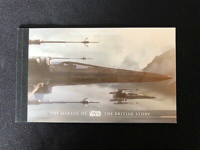 "Prestige Booklet Of Stamps ""The Making Of Star Wars The British Story"""