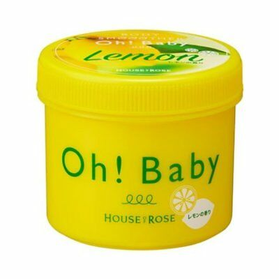 House of Rose Oh! Baby Lemon Body Smoother Scrub ~ 350g ~ 7-14 Days Arrive !!!