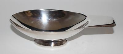 Christofle, France, Silver Plated Handled Oval Sauce Bowl Gravy Boat, 8 1/2""
