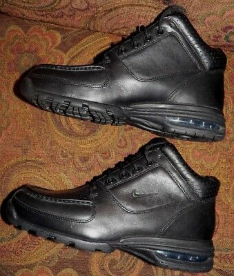 Vintage 2008 Nike Air Acg Boots All Black Us Men s Size 8.floor Model New 9f27fa969