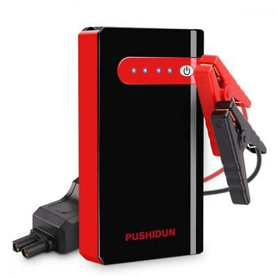 Jump Starter 10000mAh 500A Peak Car Battery Booster Pack Start 12V Up to...