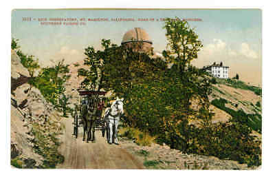 Lick Observatory,road Of A Thousand Wonders,mt. Hamilton,calif. Horse & Buggy Pc