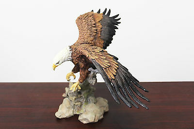 16 Flying Bald Eagle Home Decor Sculpture Statue Animal Wild Bird America