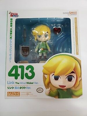 The Legend of Zelda: The Wind Waker LINK Nendoroid Figure Good Smile Company 413