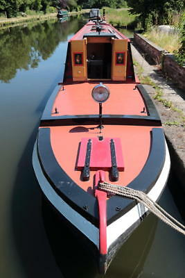 'dehli' Lms Station Boat Tug Narrowboat Barge Houseboat