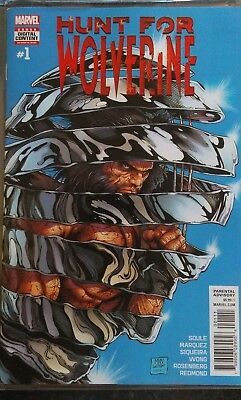 Hunt for wolverine #1 first print
