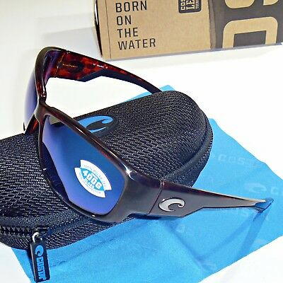 75d766d590f Costa Del Mar Luke Polarized Sunglasses - Tortoise Blue Mirror Glass 400G  Lens