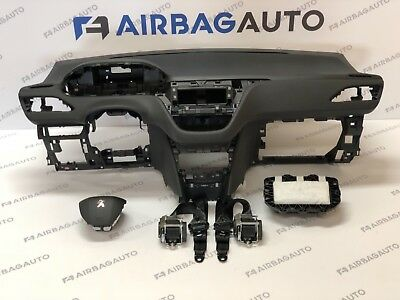 PEUGEOT 208 airbag kit cruscotto originale PEUGEOUT 208 air bag