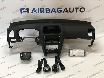 SKODA OCTAVIA 2 airbag kit cruscotto originale SKODA OCTAVIA II air bag