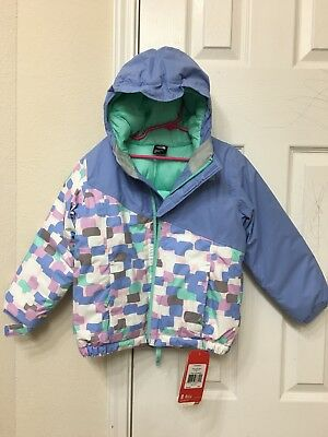 New!!! The North Face Toddler Girl Insulated Casie Jacket $120 5T