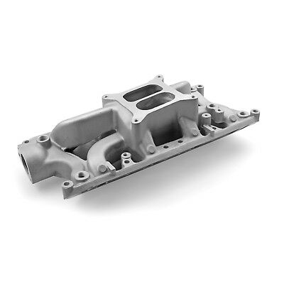 Ford SB 260 289 302 Windsor Eliminator Intake Manifold Satin