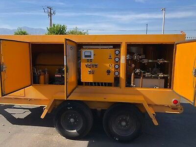 Cryoquip 2650 SF6 Gas Reclaimer Reclaiming Cart Trailer W/62 Hours