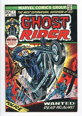 Ghost Rider #1 Vol 1 Near Perfect High Grade 1st Appearance of Son of Satan 1973