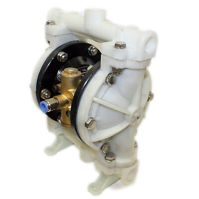Pneumatic Diaphragm Pump QBK-15 compressed air supply double new intake outlet