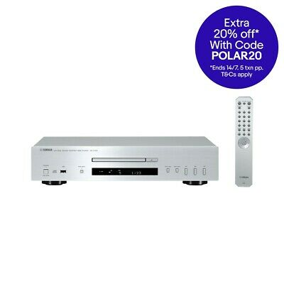 CDS700S Silver CD Player With USB Port Yamaha Silver