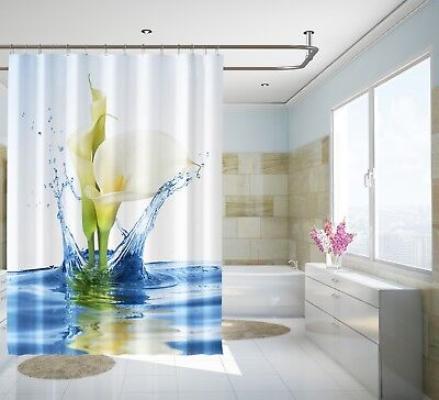 Curtains, Drapes & Valances 3d Sun Snow Woods 7 Shower Curtain Waterproof Fiber Bathroom Home Windows Toilet