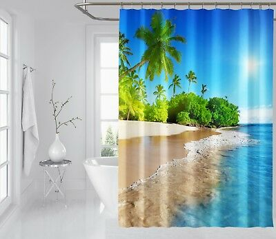 Window Treatments & Hardware 3d Dark Green Tree 8 Shower Curtain Waterproof Fiber Bathroom Windows Toilet