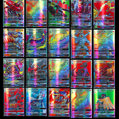 100/200 Stück Pokemon GX Karte Alle MEGA Holo Flash Trading Cards Holiday gifts